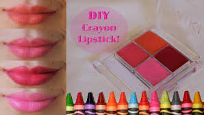 diy lipstick from crayons pretty pinks