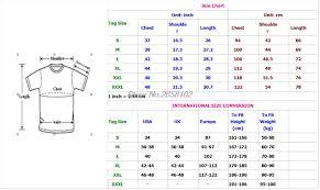 International Mens Shirt Size Conversion Chart Nils Stucki