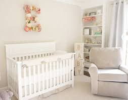 this cream nursery is lovely and light