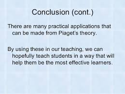 piaget s cognitive development theory 31