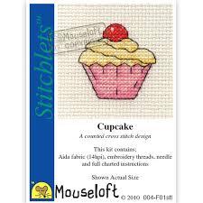Stitchlets Cupcake Cross Stitch Kit