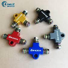 <b>Motorcycle</b> Hydraulic Brake oil Hose <b>CNC</b> Tee Connector / Tee ...