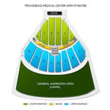 Providence Medical Center Amphitheater Tickets