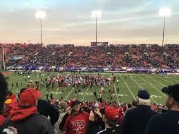 Sam Boyd Stadium Section 128 Home Of Unlv Rebels