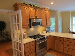 Oak To White Cabinets Kitchen With Oak Kitchen Cabinets Paint Colors Home Painting