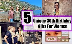 30th birthday present ideas female 6