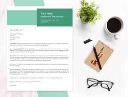 Creative Cover Letter Template Creative Cover Letter Template Cover Letter Ninjas