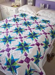 68 best Quilt Kits! images on Pinterest | Craft ideas, Projects ... & Anna's Starflake Quilt - Fons & Porter Adamdwight.com
