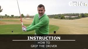 How to grip your <b>driver</b> correctly - YouTube