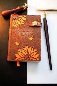 a6 pocket leather notepad notebook drawing book scribbling pad