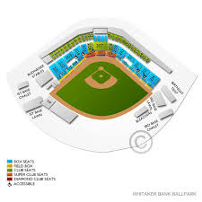 Whitaker Bank Ballpark Seating Chart Concert Greenville Drive At Lexington Legends Sun Apr 12 2020