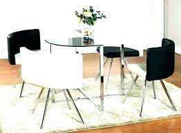 small glass dining table for 2 round and chairs set seater ikea