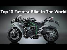 top 10 bikes in the world with