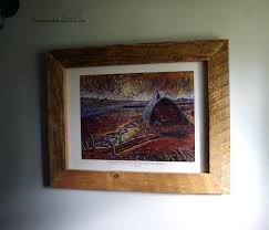 barnwood wall art building a frame out of barn wood and glass for artwork farmhouse wall barnwood wall art