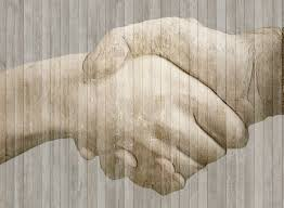 Image result for handshake sculpture