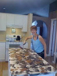Sponge Painting Countertops Rag Roller Faux Finish Painting By The Woolie How To Paint Your