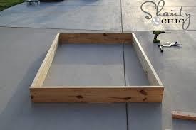 diy twin murphy bed. Marvelous Twin Murphy Bed #7 - Easy DIY Platform Shanty 2 Chic Diy