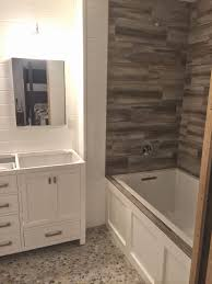 wood look tile shower floor tile designs