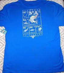 Columbia Fishing Shirt Size Chart Columbia Mens Size 2xl Tall Blue Pfg Elements Of Fishing