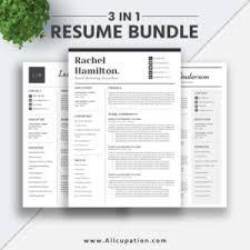 Allcupation Optimized Resume Templates For Higher Employability
