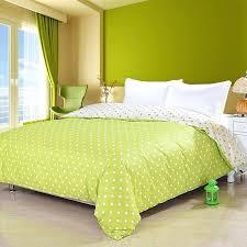 3 pieces 100 egyptian cotton lime green duvet cover set with active lime green duvet cover