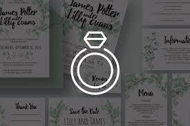 Wedding Invitation Templates With Photo 65 Gorgeous Wedding Invitation Templates Design Shack
