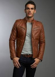 mens leather jacket find this pin and more on 0027s brown leather jackets ljezxyo
