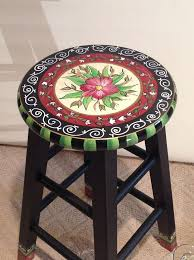 whimsical painted furnitureHand painted furniture adding color to your furnishing