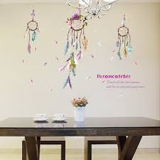 dream catcher decal feather vintage dream catcher wall decal