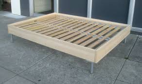 No Headboard Bed Platform Bed Without Headboard Of Also Inspirations Beds