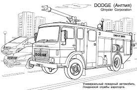 Camion De Pompier 22 Transport Coloriages Imprimer