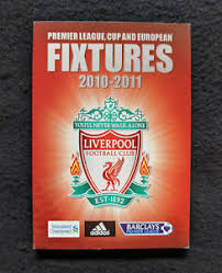 The latest liverpool news from yahoo sports. 2010 11 Liverpool F C Fixtures English Soccer Schedule Ebay