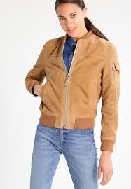 schott nyc er jacket camel women clothing jackets leather