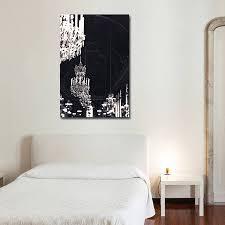 chandelier print canvas wall art