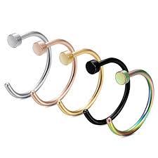 FIBO STEEL 20G 2-<b>5PCS Stainless Steel</b> Body Jewelry Piercing ...
