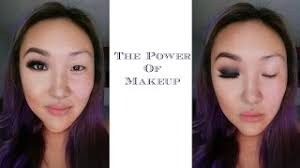 the power of makeup monolid korean transformation