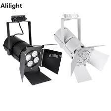 led track lighting rail light spotlight tracking light showcase display spotlight 35w rali lamp indoor