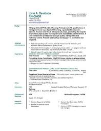 Nursing Resume Templates Free Resume Templates For Nurses] - 100 images - healthcare medical ...