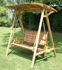 bench swing with canopy hardwood colonial 2 garden hammock swing seat with wooden canopy porch