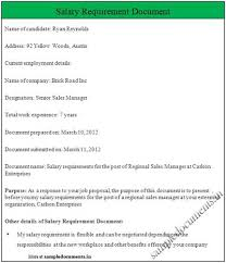 I Would Not Put Salary Requirements In The Resume