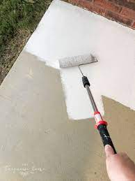 how to paint a concrete patio the