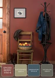 rustic paint colorsLong walks in the woods in late autumn show an abundance of
