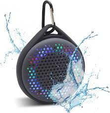 Waterproof Speaker With Lights Magnavox Outdoor Shower Waterproof Speaker With Color Changing Lights And Bluetooth Wireless Technology Mma3623