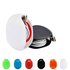 New <b>Auto Cable Winder Cord Organizer</b> Holder for Headphones ...