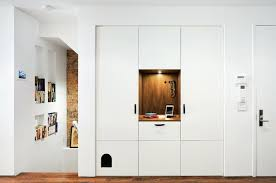 recessed wall niche new townhouse design entry contemporary with recessed wall niche alarm clocks high end