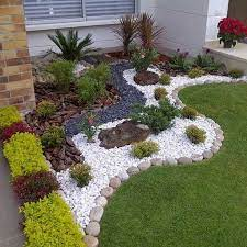 some rock gardens utilize naturalistic