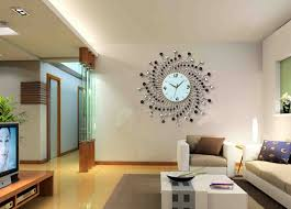 fanciful home decor wall clock best of decorative for living room modern wallpaper sticker hanging art idea painting shelf image