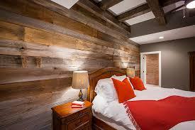 barn wood brings warmth to custom homes