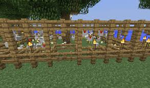 fence minecraft. The Animals Get Pushed On Top Of Inner Layer Fence, But Then They\u0027re Above Fray So They Don\u0027t Outer 3 High Fence Minecraft