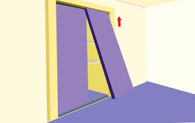 how to install sliding closet doors on laminate